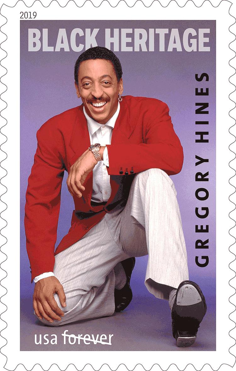 美国1月27日发行格雷戈里海因斯邮票
