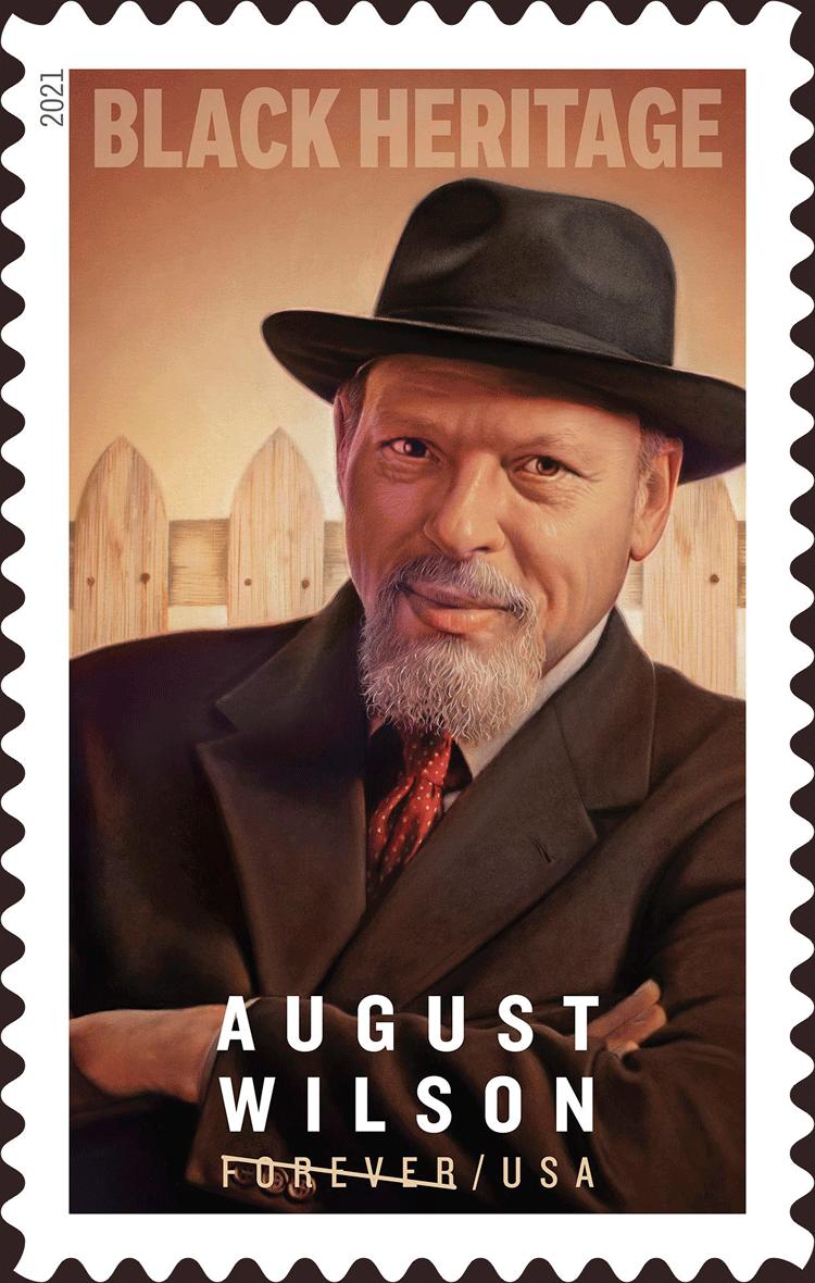 美国1月28日发行传奇剧作家奥古斯特・威尔逊邮票