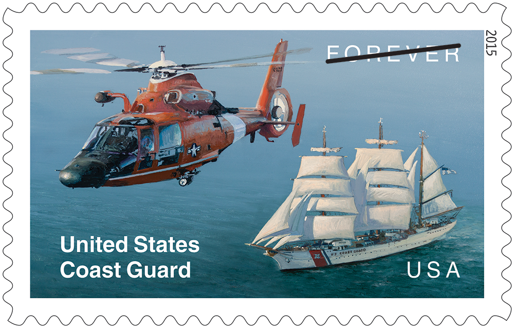 U.S. Coast Guard (U.S. 2015)   virtualstampclub.com