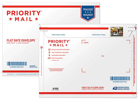 glade creek grist mill priority envelope us 2015