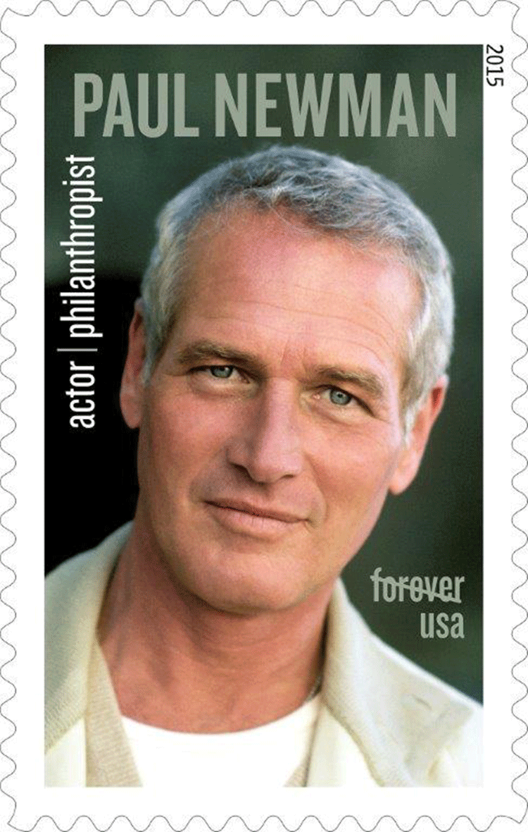 Resultado de imagem para selo de Paul Newman
