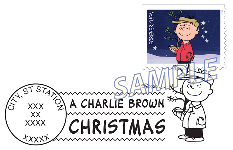 Charlie Brown Christmas US 2015 virtualstampclubcom