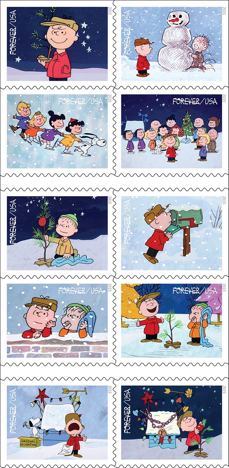 Charlie Brown Christmas U S 2015 Virtualstampclub Com