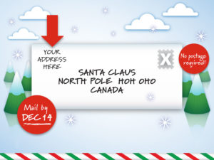 Write to Santa (CNW Group/Canada Post)