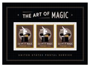 The Art Of Magic Souvenir Sheet US 2018