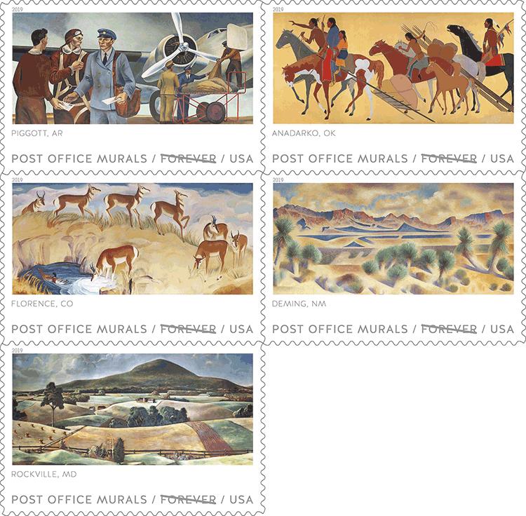 美国4月10日发行邮局壁画香港马会2018开奖现场直播